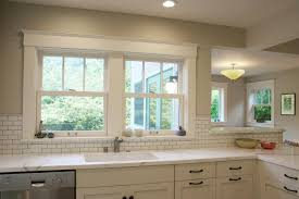Kitchen Cabinets Around Windows The Way Kitchen Tile Backsplash Is Selected Home Decorating Ideas