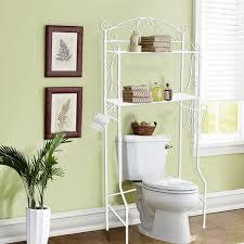amazon com vdomus bathroom space saver storage over the toilet amazon com vdomus bathroom space saver storage over the toilet wire shelf shelves white home improvement