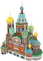 3D пазл <b>CubicFun</b> Cathedral of <b>Resurrection</b> the Christ C206h