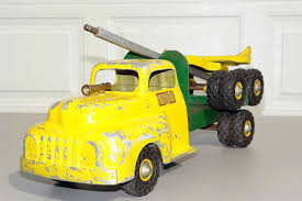 oregon s trails toy log trucks once popular gifts for boys