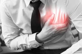 heart attack or heartburn differences between types of chest pain hear attack man holding chest