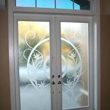 etching glass doors etched door etched glass shower door decals