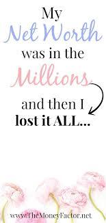 My Miserable Million Dollar Net Worth Pay Off Debt Pinterest