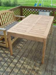 diy pallet outdoor dinning table. make your own long rectangle outdoor dining set from short wooden pallet diy old dinning table y