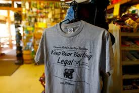 voters keep bear baiting legal in maine