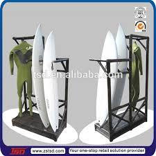 Surfboard Display Stand TSDW100 Surf Equipment Wooden Surfboard Shelf100side Mdf Display 75