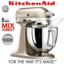 kitchenaid 125. kitchenaid - artisan stand mixer 5ksm175ps brushed nickel kitchenaid 125