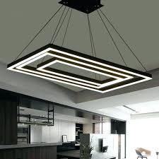 rectangular pendant light fittings box modern led lights for dining acrylic lamp rectangular pendant light