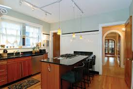kitchens with track lighting. Brilliant Kitchen Track Lighting Led Concept The Latest Kitchens With N