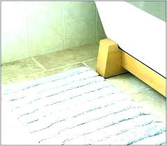 gy chenille white long bath mat non slip argos trellis extra long bath rug designs blue