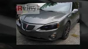 Blacked Out Headlight Covers - Pontiac Grand Prix - YouTube