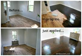 Restaining Wood Floors Simple On Floor In Decoration Refinishing DIY