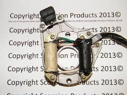 110cc chinese atv parts chinese atv stator magneto charging system 5 wire plug 110cc 125cc honda clone