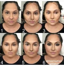 makeup highlight contour details on s used and how to achieve this look go to insram dressyourface