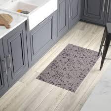 modern kitchen mats. Bloomsbury Market Queen Charlton All Weather Modern Runner Kitchen Mat \u0026 Reviews | Wayfair Mats