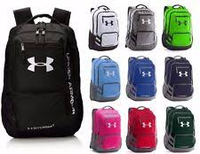 under armour backpack. under armour hustle ii backpack team bag school new authentic