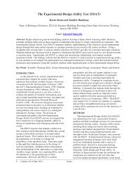 Experimental Design Biology Example Pdf The Experimental Design Ability Test Edat