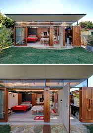 home office studio. Outdoor Office Studio. This Modern Backyard Studio In Australia Has A Home Office, Living D