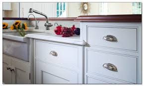 White Kitchen Cabinets Handles Changing Kitchen Cabinet Beach