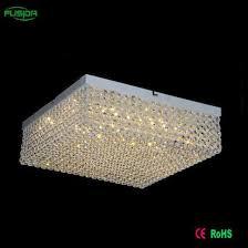 zhongshan square led crystal ceiling lamp