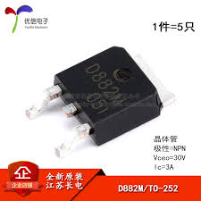 <b>New Arrival</b> Promotion 100% <b>Original</b> D882M TO 252 2 NPN 30V/<b>3A</b> ...