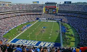 Chargers Stadium Seating Chart Qualcomm Stadium San Diego Chargers Football Stadium