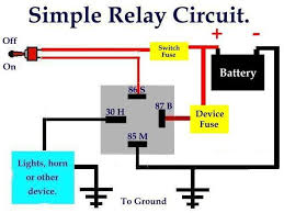 simple relay switch wiring diagram great installation of wiring simple relaycircuit is an electrically operated switch many relays rh com cooling fan relay wiring diagram typical furnace wiring diagram