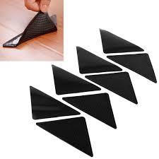 8pcs pack rug carpet mat grippers ruggies curling slip reusable washable grips