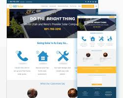 professional webtemplate professional website template design landing pages design