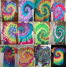 Tie Dye Swirl Design Details About Adult Handmade Tie Dye Shirt Traditional Swirl Spiral You Choose Colors