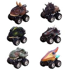 Christmas Gifts Toys for 2-9 Year Old Boys, GZCY Pull Back Dinosour Cars Amazon.com: