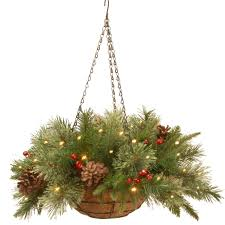 A collection of the top 54 christmas aesthetic wallpapers and backgrounds available for download for free. 20 Green Red Battery Operated Led Lighted Colonial Hanging Basket Christmas Decor Christmas Central