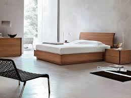 double bed  contemporary  wooden  park  tomasella compas