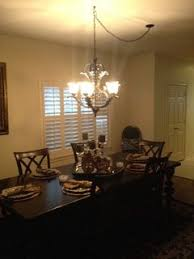 dining room chandelier chain length. we did that and i think it looks great! dining room chandelier chain length