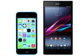 sony xperia z4 ultra. iphone 5c \u003cbr /\u003evs\u003cbr /\u003e sony xperia z ultra z4