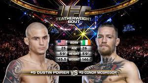 Dustin Poirier vs. Conor McGregor full ...