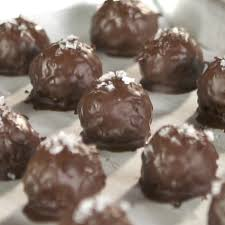 Coconut and <b>Dark Chocolate Bites</b> with <b>Sea</b> Salt | Recipe (With ...