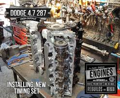 Dodge 4.7 High Output remanufactured engine - Los Angeles Machine ...