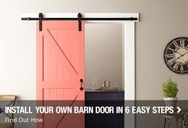 Install your own Barn doors in 6 easy steps