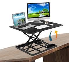 adjustable standing desk converter. Simple Converter Defiance Pro 32u0027  Height Adjustable Standing Desk Converter Defy Throughout S