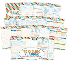 Free Travel Planner Get Organized For Your Next Vacation With Our Free Travel Planner