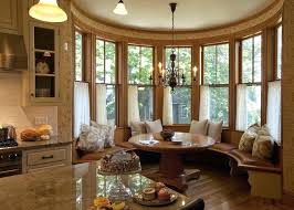 living room nook ideas dining with round table glass front breakfast designs kitchen