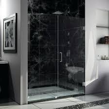 60 frameless shower door shower door inch clear glass chrome vigo elan 56 to 60 in