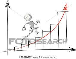 Exponential Growth Chart Simple People Exponential Growth Chart Clipart K22610382