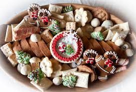 Christmas tree appeared in russia in the times of peter the great, but not immediately entered the life of the russian people. Christmas Cookie Trays All Sparkled Up