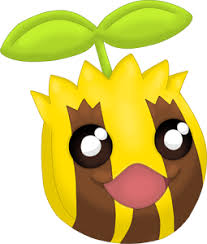 Pokemon 2191 Shiny Sunkern Pokedex Evolution Moves