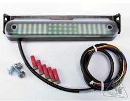 admore lighting high output led light bar running brake and clear lens