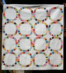100 Days of Modern Quilting- Week of Blocks- Featured Quilt 7 ... & We love Denyse Schmidt's Single Girl pattern (a modern interpretation of  the traditional wedding ring quilt) and so does Jessica Kovach, whose  beautiful ... Adamdwight.com