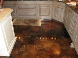 Cement Kitchen Floor Interior Decorative Concrete Nice Kitchen Floor A