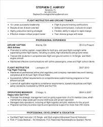 Sample Airline Pilot Resume Ground attendant Sample Resume Lovely Sample Airline Pilot Resume 29